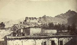 Yarkund Mission, 1873. - View in Bazar, Leh. 355189